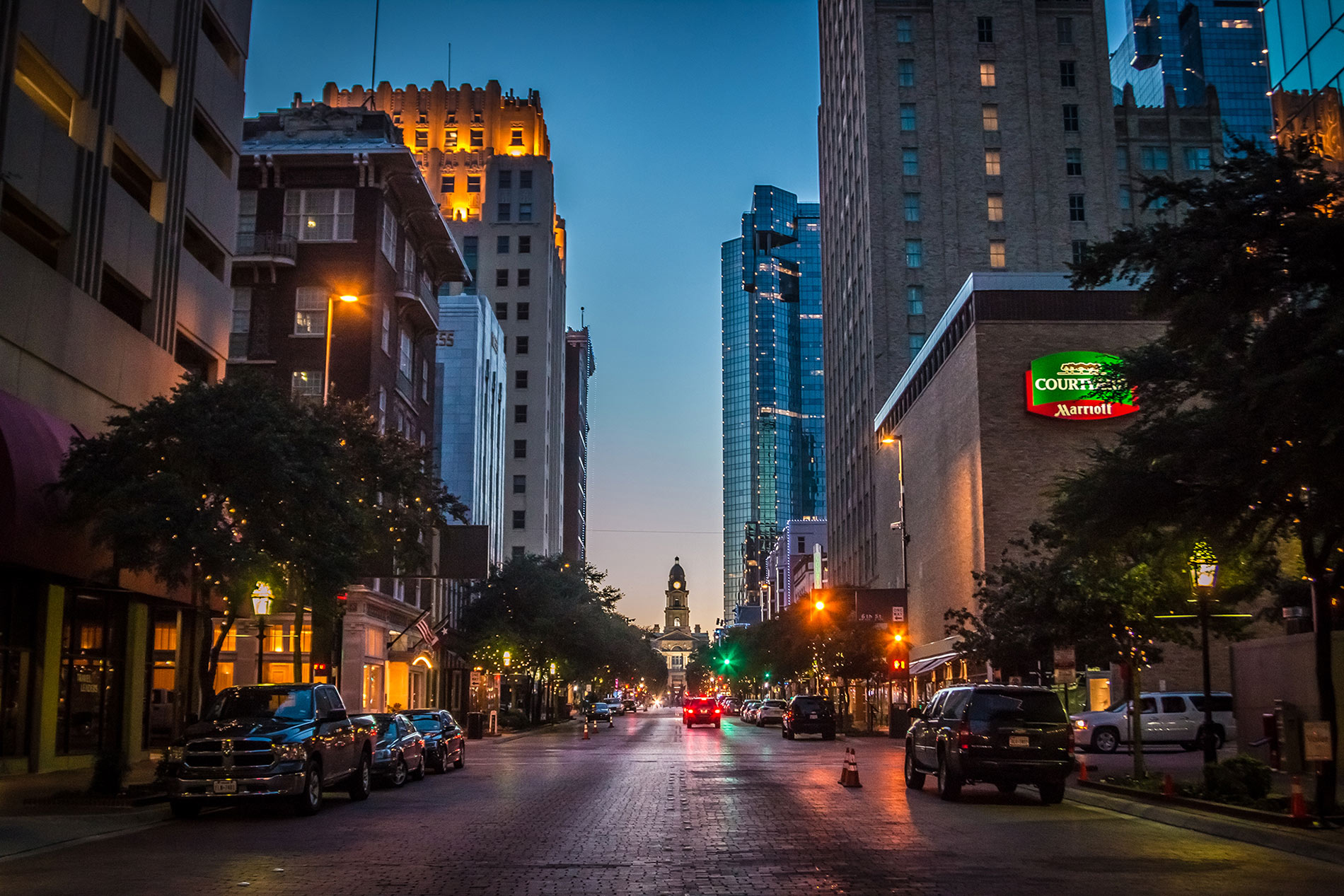 Fort Worth at Dusk
